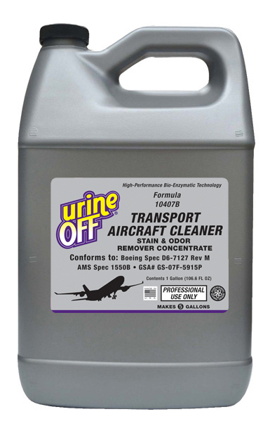 Urine Off Aircraft Cleaner Concentrate Refill (makes 5 gallons)