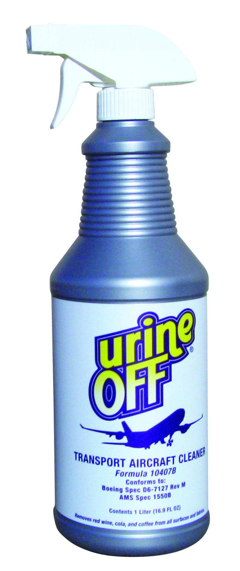 Urine Off Aircraft Cleaner 1 Liter Spray Bottle 1 Liter