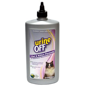Cat & Kitten Formula Bottle Carpet Injector Cap 16 oz
