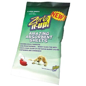 Zorb-It-Up!™ Super Absorbent Disposable Sheets - Cello Pack