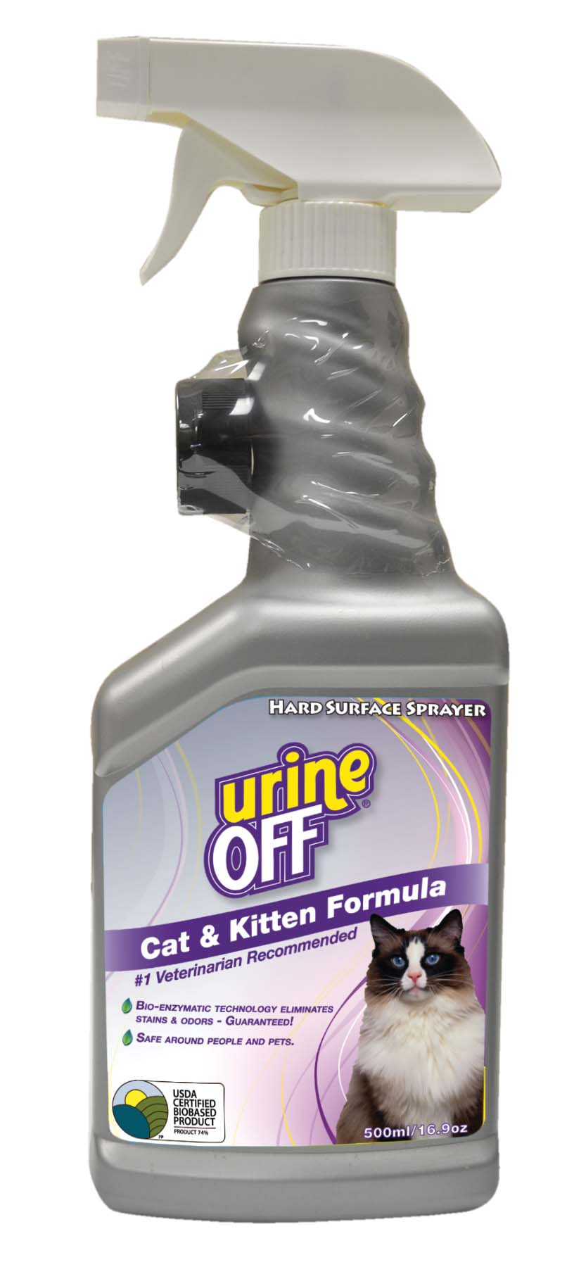 Urine-Off™ Cat 500ML Sprayer with Carpet Cap