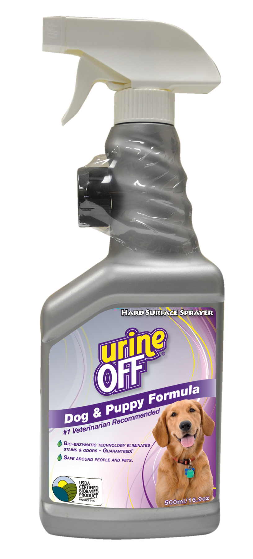 Urine-Off™ Dog & Puppy Formula 500 ml Sprayer with Carpet Cap