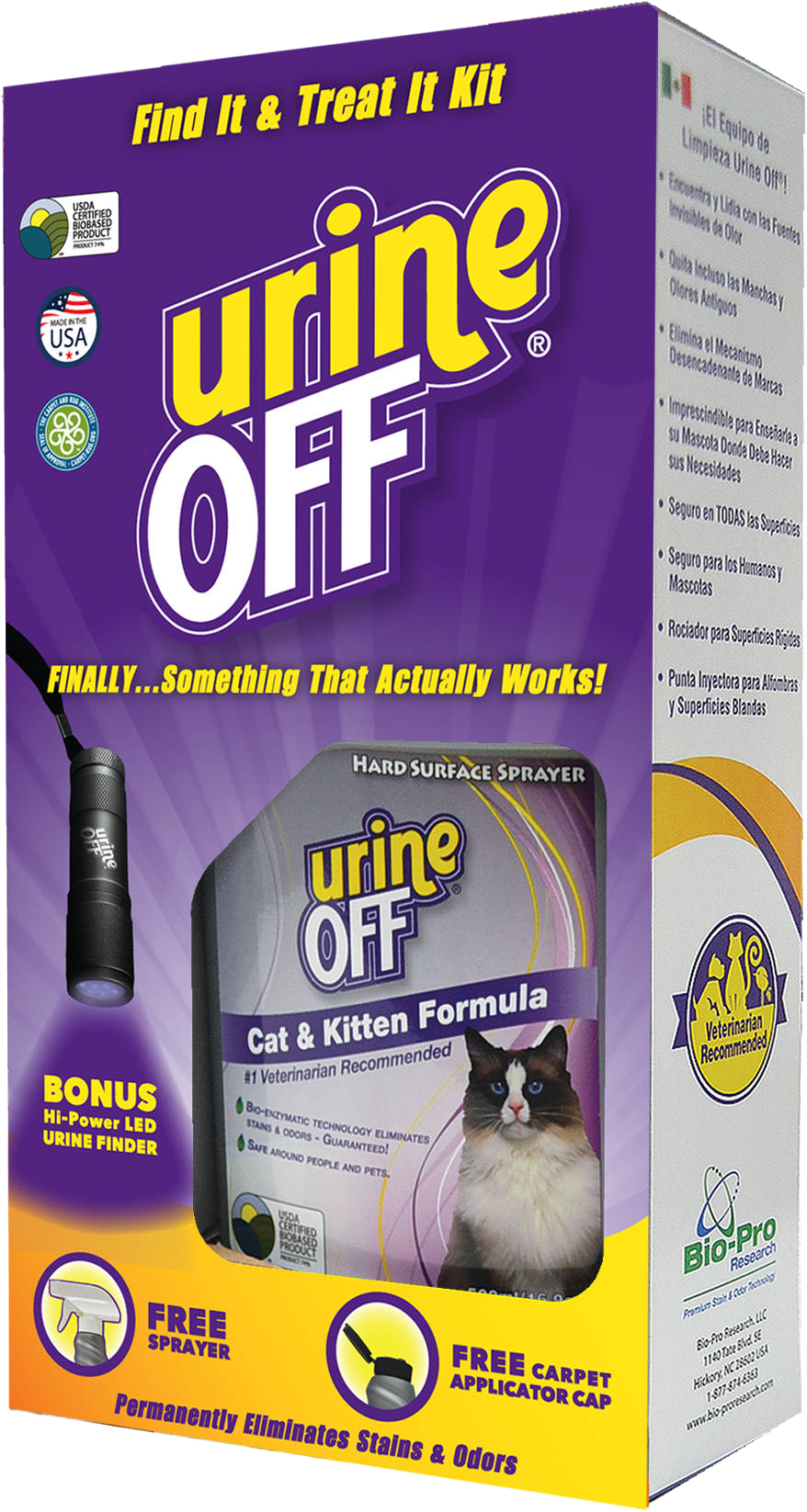 Find it Treat it – All in One Pet Cat Kit
