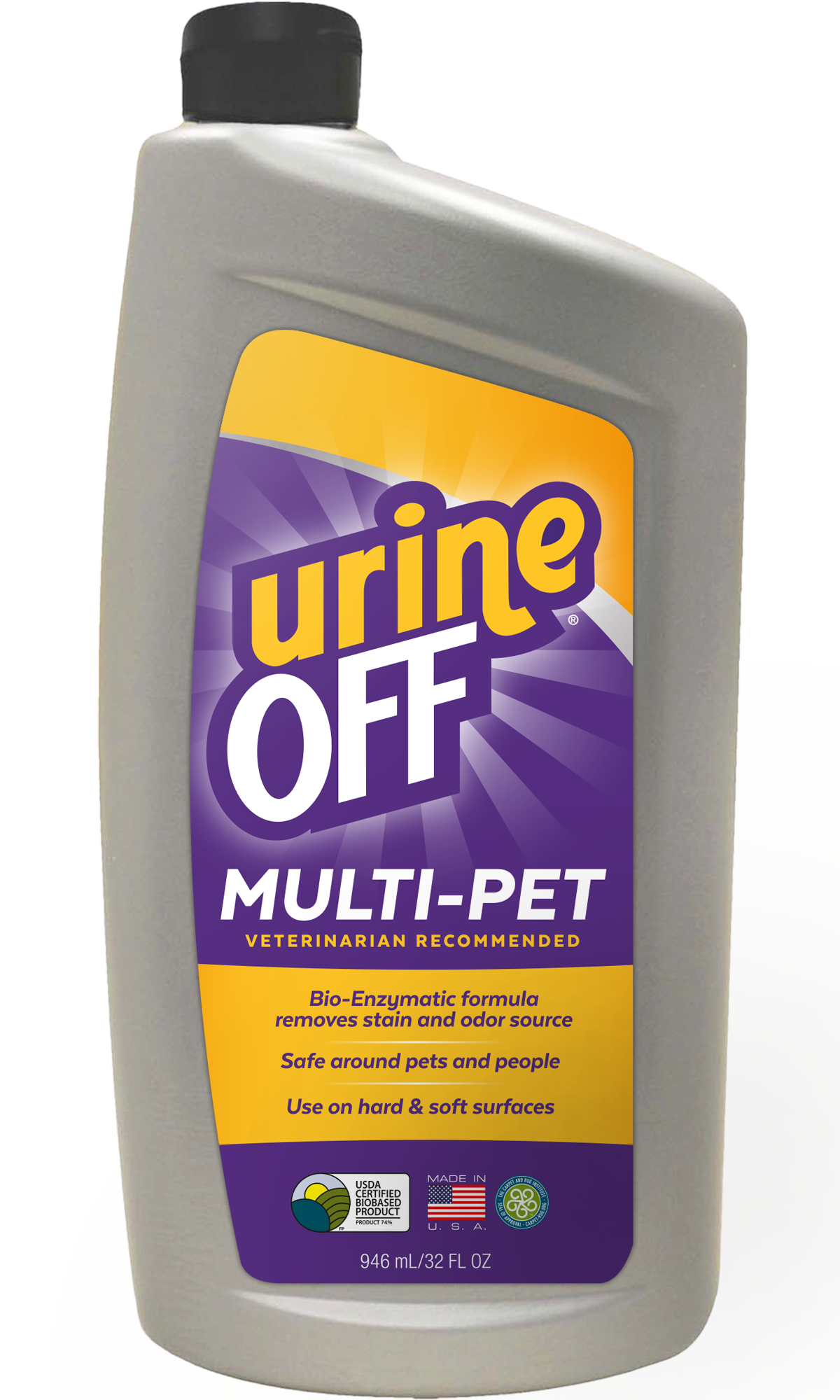 Multi Pet 32 oz with Carpet Cap